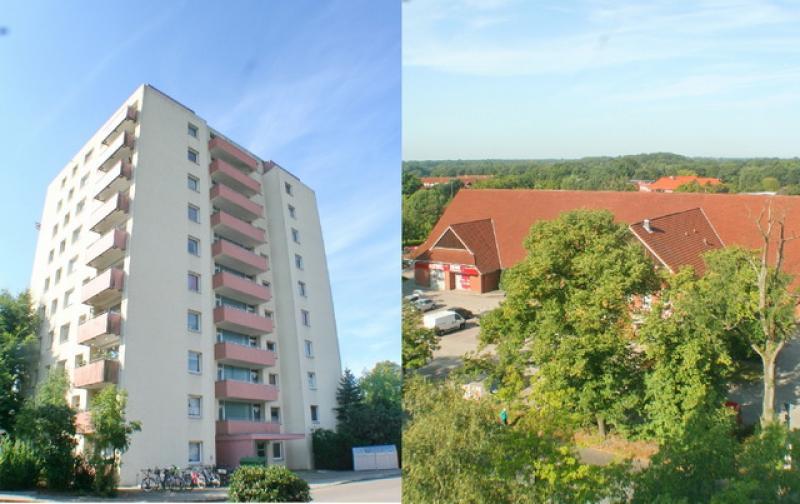 Traumhafter Ausblick - Top renovierte 2 Zi.-Wohnung in City-Lage !