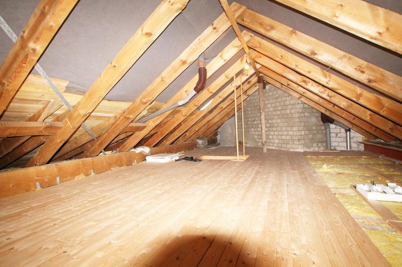 Dachbodenraum